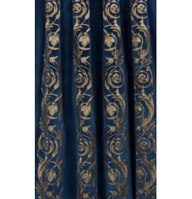 Pegaro Бархат синий, цена за 1 погон.метр