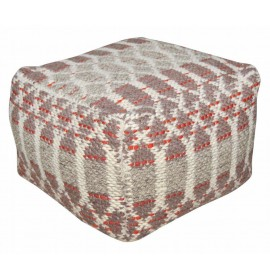 Tom Tailor Smooth Comfort Small Pattern pouf red