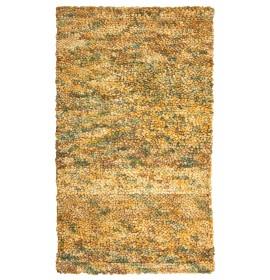 Shaggy beige/green (новозеландская шерсть)