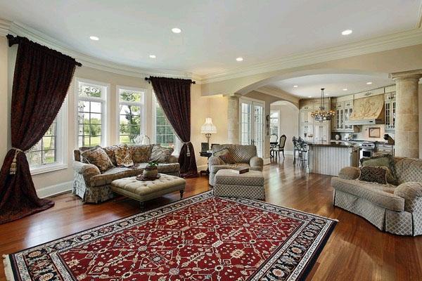 Классика и современность: ковры для разных интерьеров
